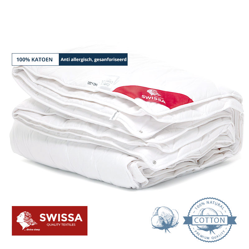 Swissa dekbed katoen 4 seizoens